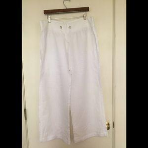 Lily Pulitzer linen beach pants